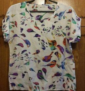 Новая блузка с птицами