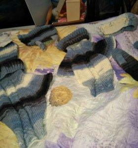 Набор ручной вязки для мамы и дочки