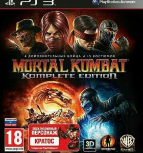 Продам игру для PS3 Mortal Kombat Komplete Edition