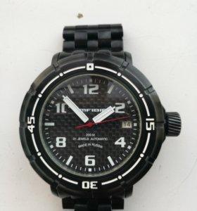 Продаю механические часы с автоподзаводом Amfibiu