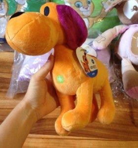 Плюшевая игрушка собака Лула