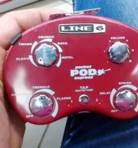 Звуковой процессор для гитар