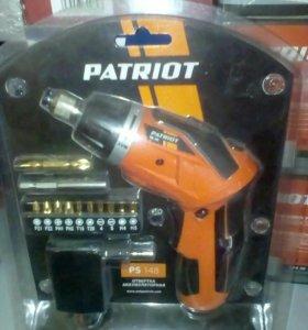 Отвёртка аккумуляторная Patriot PS148
