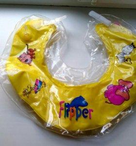 Круг на шею для купания Roxy-kids Flipper