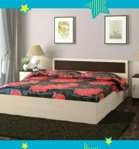 Кровать Новая с матрасом