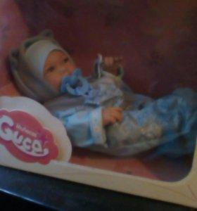 Испанская кукла младенец