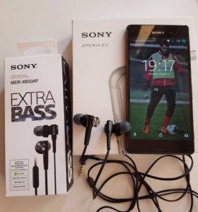 Sony Xperia Z3 D6603 black.