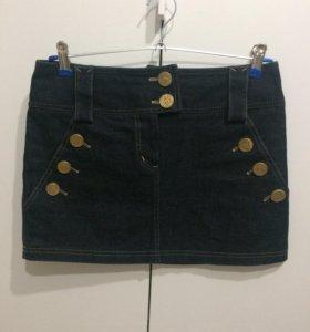 Юбка джинсовая 42р-р