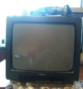 Телевизор horizont в рабочем состоянии