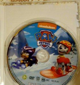 Щенячий патруль новый DVD диск