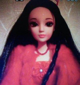 Кукла полностью шарнирная с акрилловыми глазами