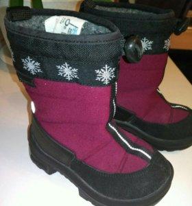 Детская обувь зима