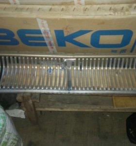 Решетка радиатора ГАЗ 24 хром без очков