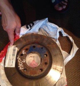 Тормозной диск, Mazda 6