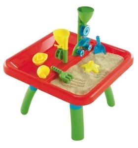 Стол-песочница для игр с водой и песком ELC