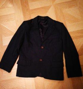 Пиджак для мальчика ( цвет темно синий)