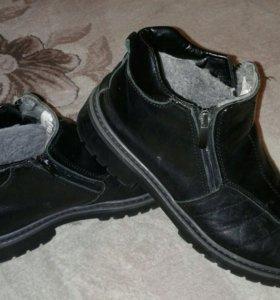 Отличные натуральные ботинки