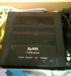 Модемы Zyxel P-600/660