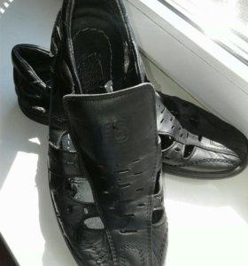 Макасины/туфли.Кожа.