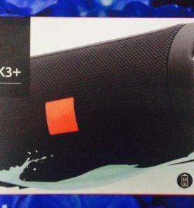 Новые JBL колонки Charge K3+ красные