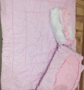 Балдахин,бортик ,одеяло