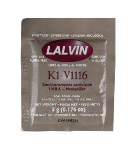 Дрожжи винные Lalvin All Purpose K1V1116 23 л