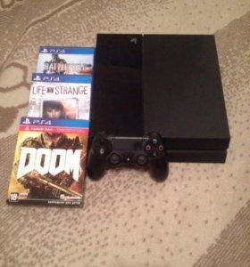 Playstation 4+3 игры