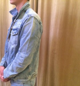 Джинсовая куртка мужская новая !!!