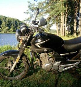 Yamaha ybr 125 2014г 16ткм