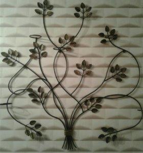 🗿Кованное изделие под цветы.возможен торг.🗿
