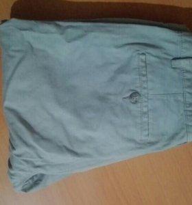 Серые брюки чинос