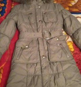 зимнее плащ пальто детское