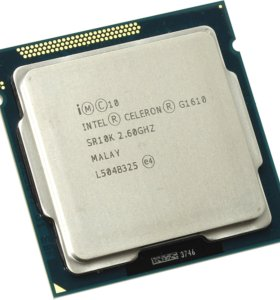 Intel Celeron G1610 (2600MHz, LGA1155, L3 2048Kb)