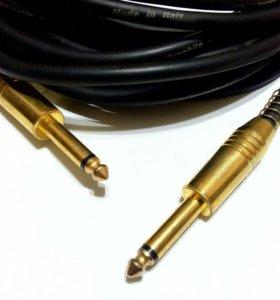 Гитарно-акустический кабель bespeco