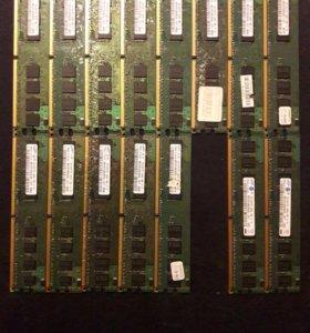 DDR2 / 1Gb - 20шт