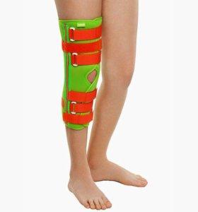 Разъемный коленный ортез.Размер XL
