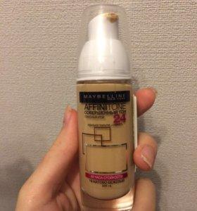 Новый тональный крем Maybelline Affinitone 10 тон