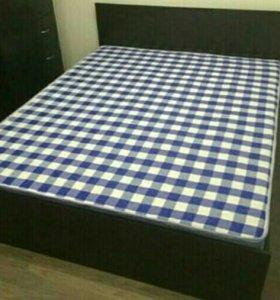 Кровать 120 с матрасом Аделия аенге