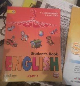 Книги английский spotlight3/5 классы