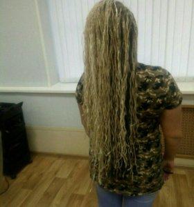 Афро косы плетение