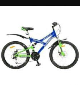 Велосипел Avanti pirate disk 24 ( сине-зеленый)