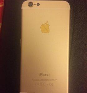 Корпус Iphone 6 gold оригинал