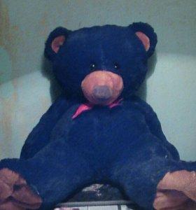 Игрушка медведь цвет чёрный