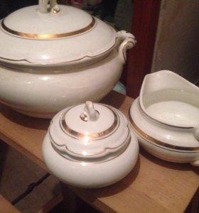 Посуда. Столовый сервиз из СССР