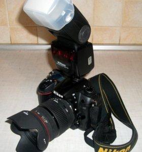 Nikon d7000 + Sigma 18-200 + Nikon SB-700