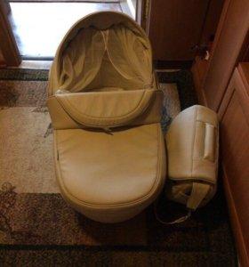 Коляска bebe mobile santana 3в 1