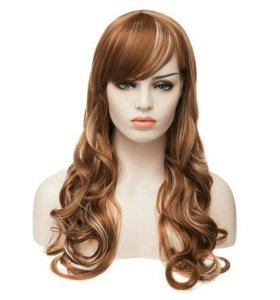 Новый парик 65см карамель