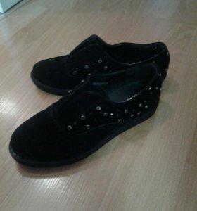 новые туфли zenden