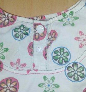 Платье на девочку 5-6 лет