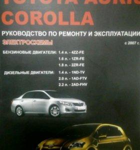 Руководство по ремонту Toyota Carolla